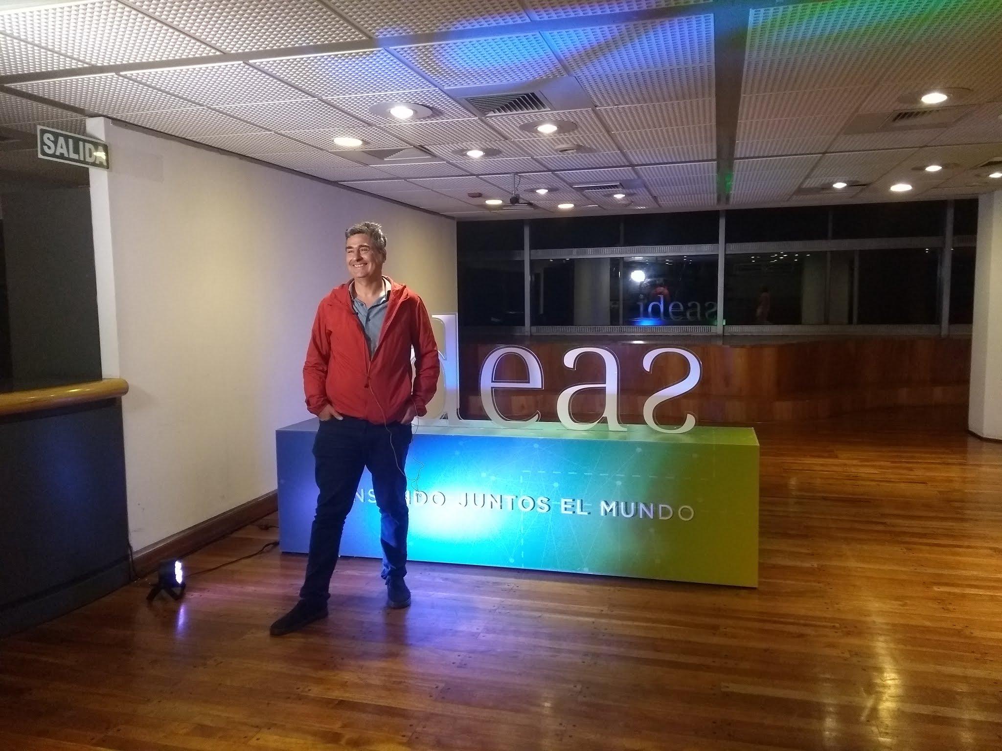 Blas Briceño (CEO de Finnegans) presente en el evento